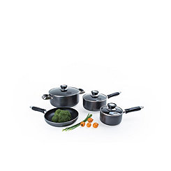Gray 7 pc. Non-Stick Cookware Set