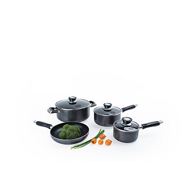 Gray 7 pc. Non-Stick Cookware Set