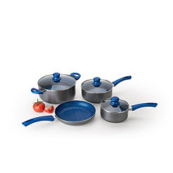 Gray Marble 7 pc. Non-Stick Cookware Set