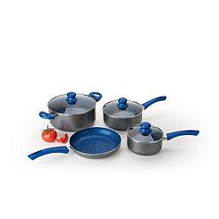 Gray Marble 7 pc. Non-Stick Cookware Set
