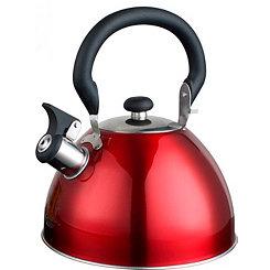 Red Whistling Tea Kettle