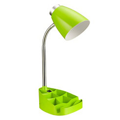 Green Desk Lamp with Tablet Stand