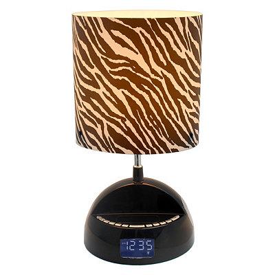 Zebra Stripe Speaker Lamp
