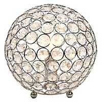Crystal Ball Sequin Table Lamp