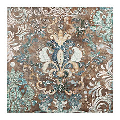 Damask Canvas Art Print