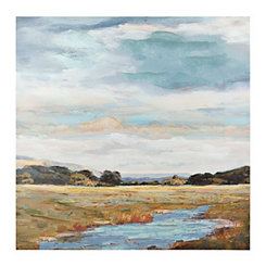 Open Field Canvas Art Print