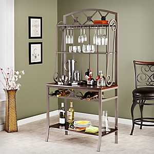 Holly Wine Shelf Bakers Rack