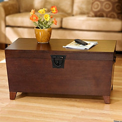 Espresso Tapered Trunk Coffee Table
