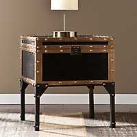 Hypatia Travel Trunk Side Table