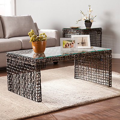 Navagio Woven Coffee Table