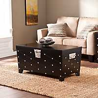 Black Nailhead Truck Coffee Table
