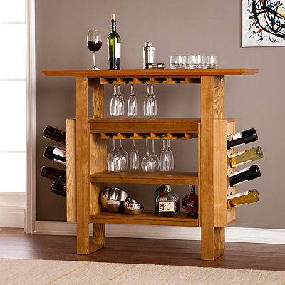 Marick Wooden Console Bar