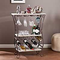 Madelyn Gray Wine Storage Rack