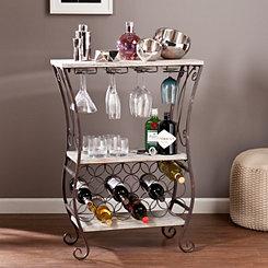Madelyn Gray Wine Storage Rack