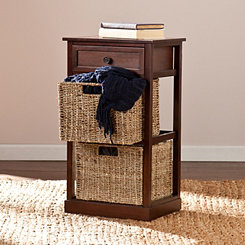 Zamba 3-Drawer Storage Chest with Baskets