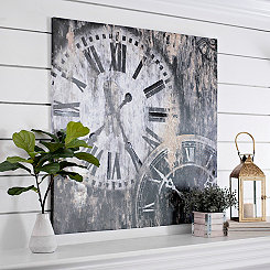Value the Time Canvas Art Print