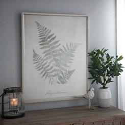 Vintage Fern Botanicals II Framed Art Print