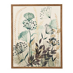 Allayed Florae I Framed Art Print