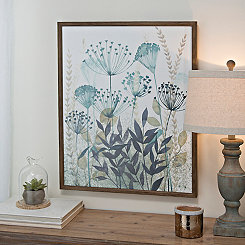 Allayed Florae II Framed Art Print