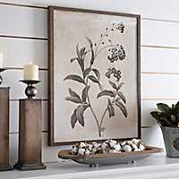Earthy Botanicals Framed Art Print