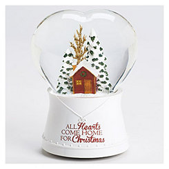 Christmas Home Musical Glitterdome Figurine