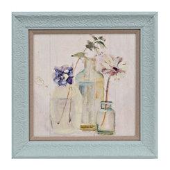 Blum Floral Chalk II Framed Art Print