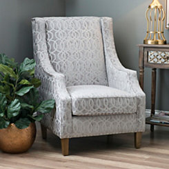 Quinn Dove Gray Accent Chair