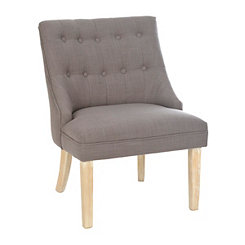 Eva Charcoal Accent Chair