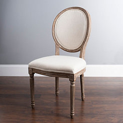 Louis Ivory Dining Chair