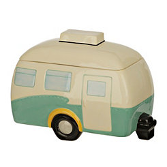 Retro Camper Cookie Jar