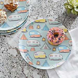Outdoor Adventurer Dinner Plates, Set of 4