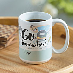 Go Somewhere Mug