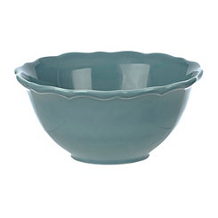 Celedon Blue Cereal Bowl