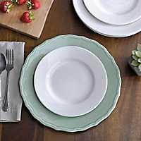 Celedon Aqua Charger Plate