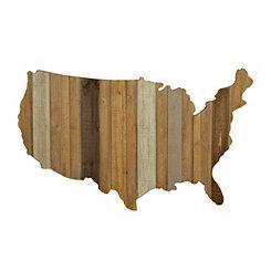 United States Plank Plaque
