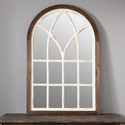 Two-Tone Arch Wall Mirror