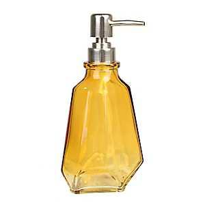 Amber Jewel Cut Soap Pump