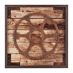 Rustic Gear Shadowbox