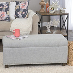 Carolyn Gray Studded Storage Bench