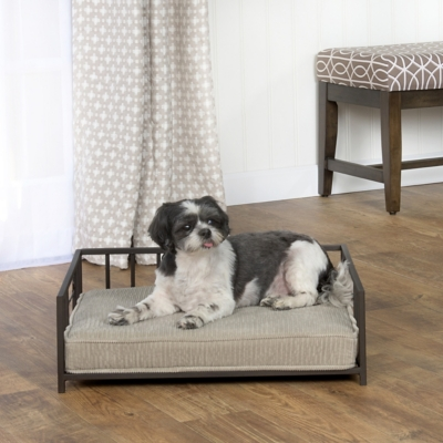 Isabella Metal Bone Pet Bed, Comfortable Pet Beds