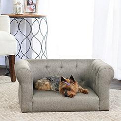 Lance Gray Sofa Pet Bed