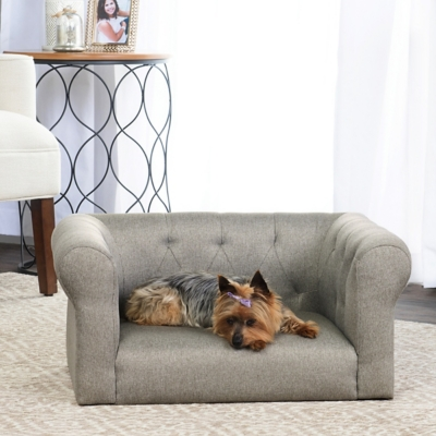 Lance Gray Sofa Pet Bed, Comfortable Pet Beds