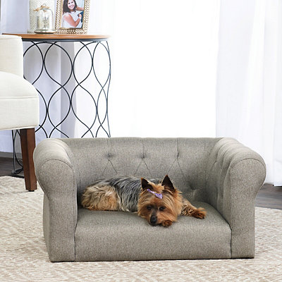 Lance Gray Sofa Pet Bed