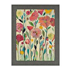 Vibrant Florals Framed Art Print