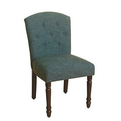 Blue Delilah Tufted Dining Chair