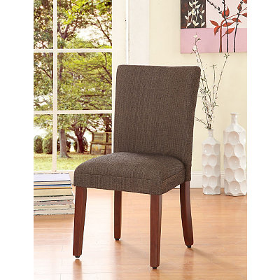 Brown Dining Parsons Chair