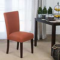 Orange Dining Parsons Chair