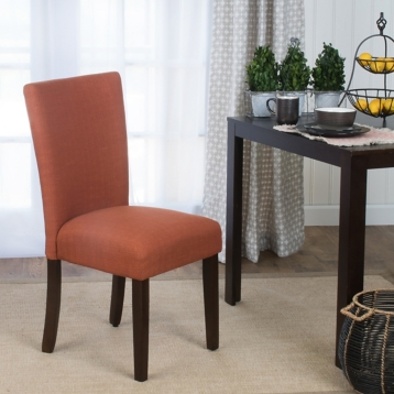 Orange Dining Parsons Chair | Kirklands