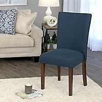 Oceanside Blue Dining Parsons Chair
