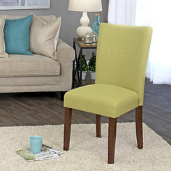 Cilantro Green Dining Parsons Chair
